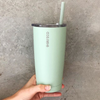 Ever Eco Silicone Straw and Tumbler