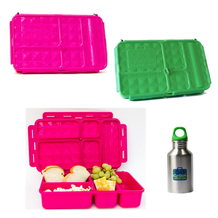 Go Green Large Lunchbox