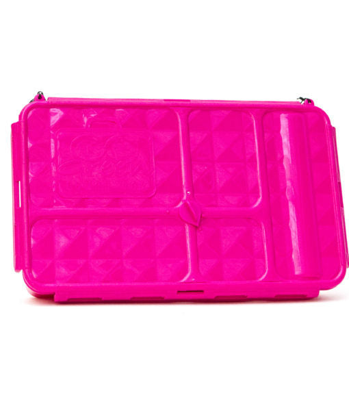 Go Green Large Lunchbox - Pink