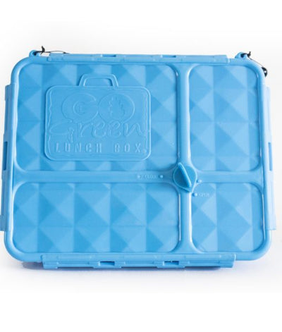 Go Green Medium Lunchbox - Blue