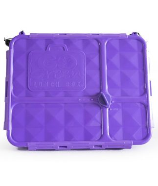 Go Green Medium Lunchbox - Purple