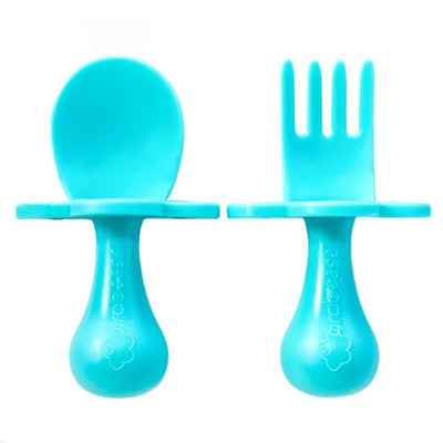 Grabease Toddler Cutlery - Teal