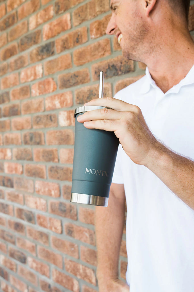 Montii Co Smoothie Cup - Grey