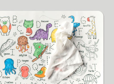 HeyDoodle Reusable Silicone Placemat