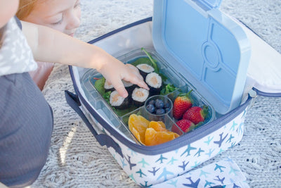 Yumbox Panino and Keep Leaf Lunch Bag