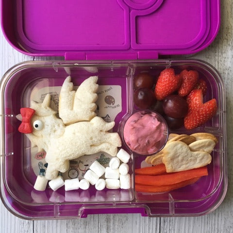 Unicorn Sandwich in Yumbox Panino