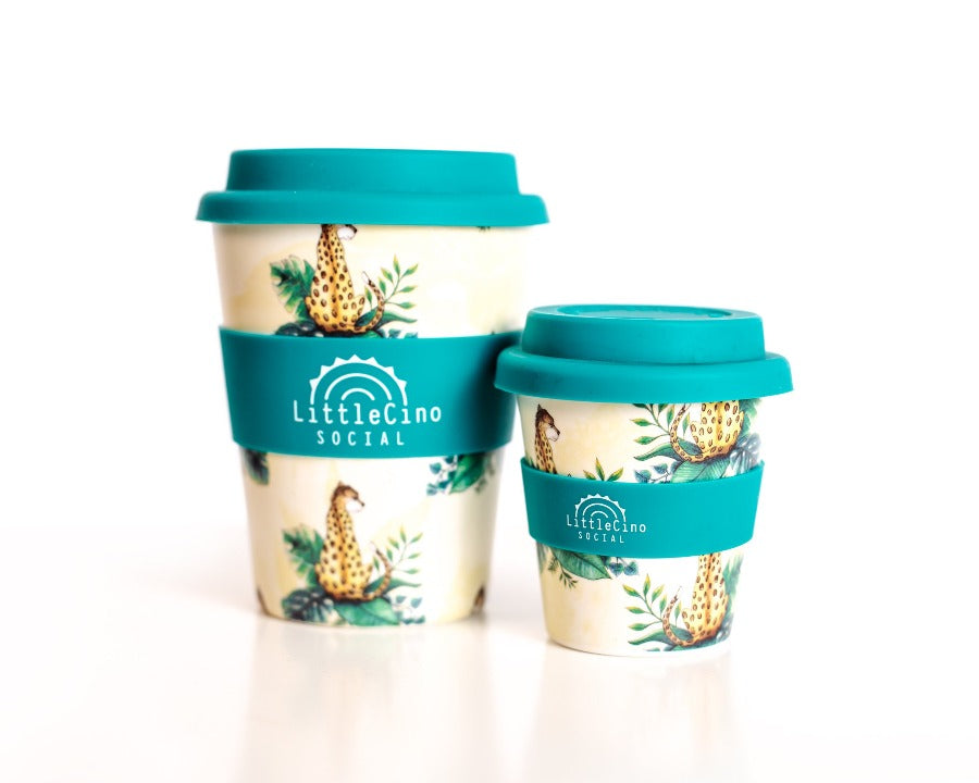 Little Cino Social Reusable Bamboo Coffee Cup