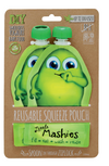 Little Mashies Reusable Food Pouches - Green