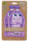 Little Mashies Reusable Food Pouches - Purple
