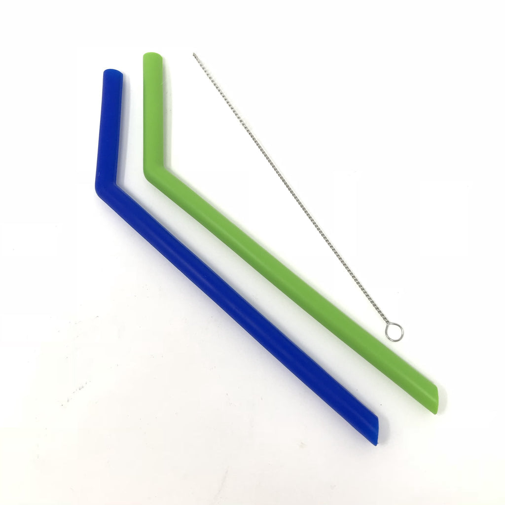 Little Mashies Soft Silicone Straws - 2 Pack