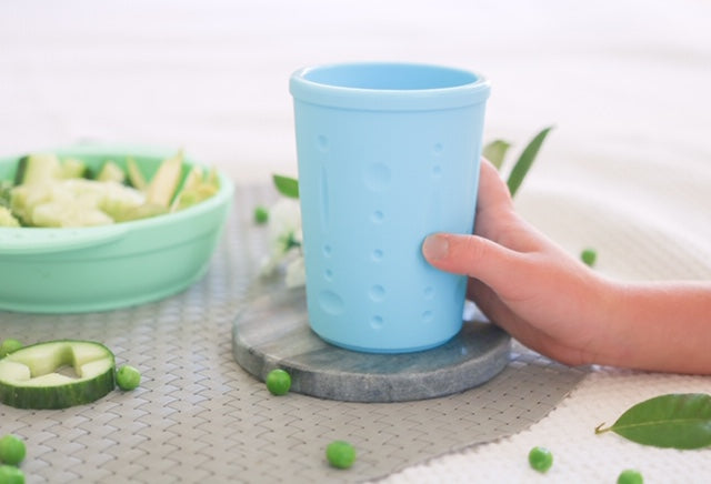 Little Woods Silicone Scoop Bowl and Grab Cup Set