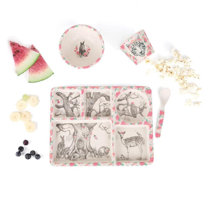 Love Mae Divided Plate Set - Enchanted Forest