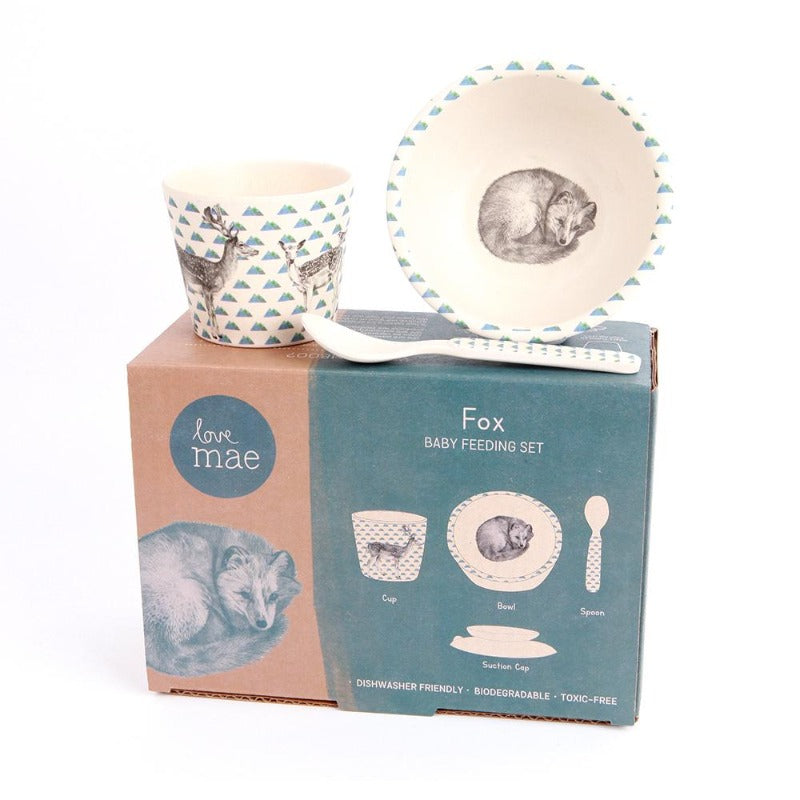 Love Mae Baby Feeding Set - Fox