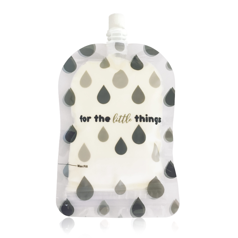 Sinchies Reusable Food Pouches - Monochrome Droplets