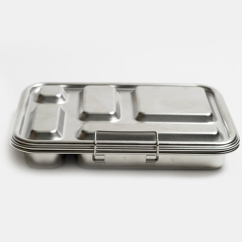 Nestling Leakproof Stainless Steel Bento Lunch Box