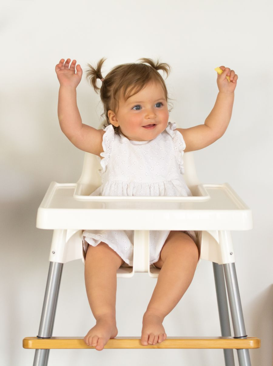 Nibble & Rest Woodsi Footsi Bamboo Adjustable Highchair Footrest