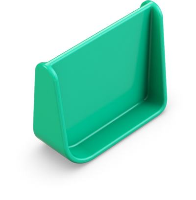 OmieBox Spare Divider - Meadow Green