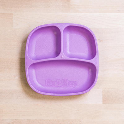 RePlay Divided Plate - Purple