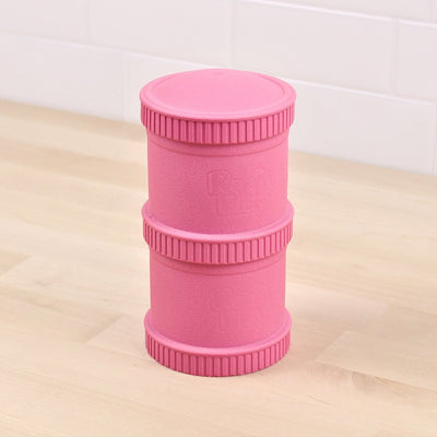 RePlay Recycled Snack Stack - Bright Pink