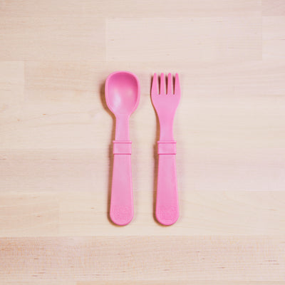 RePlay Utensils - Baby Pink