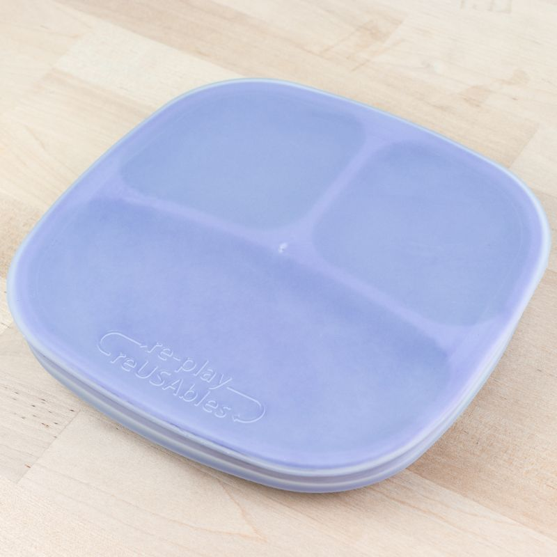 RePlay Recycled Silicone Plate Lid