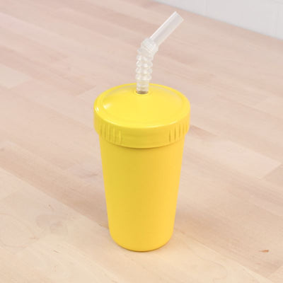 RePlay Recycled Straw Cup  - Yellow