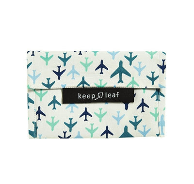 Keep Leaf Reusable Baggie - Small - Planes