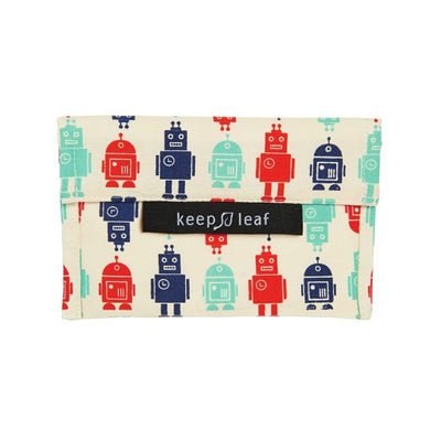 Keep Leaf Reusable Baggie - Small - Robots