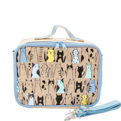 SoYoung Insulated Lunch Bag - Curious Cats