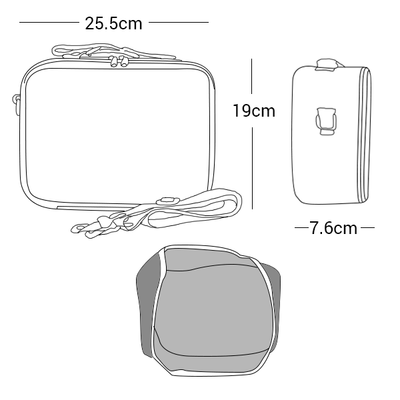 SoYoung Insulated Lunch Bag Dimensions