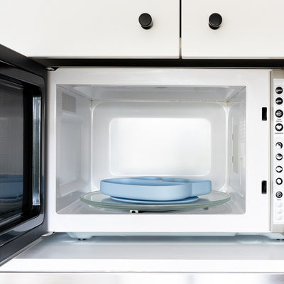 We Might Be Tiny Stickie Plates in Microwave