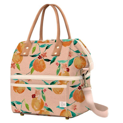 The Somewhere Co Cooler Bag - Orange Blossom