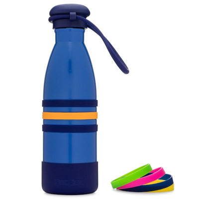 Yumbox Aqua Insulated Drink Bottle Ocean Blue