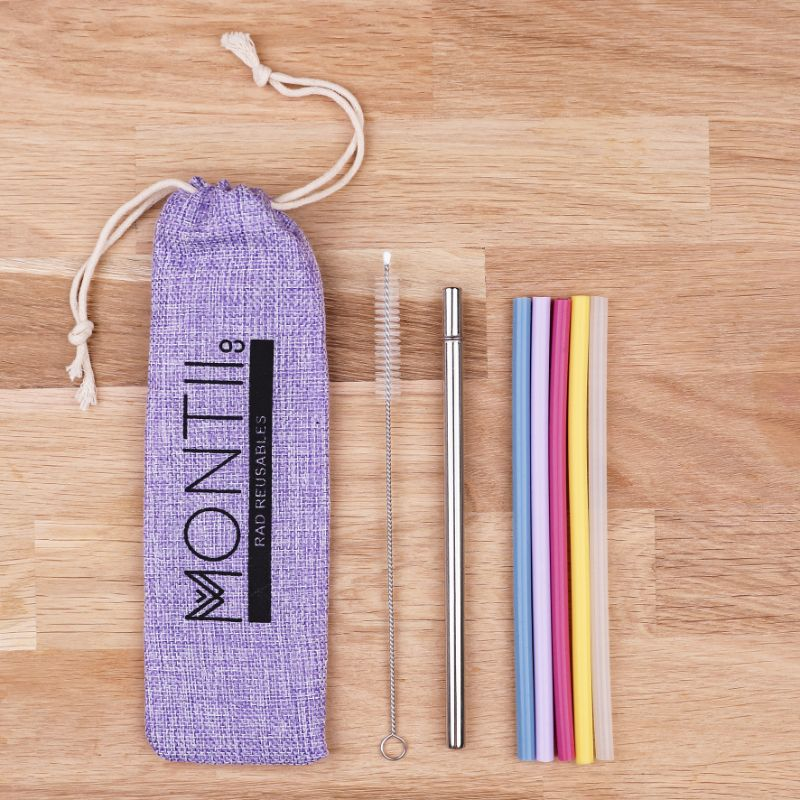 MontiiCo Mini Straw Set - Mellow