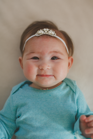 Tiny Tiara Baby Headband