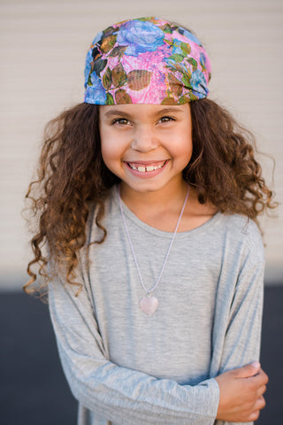 Kids Floral Head Wrap