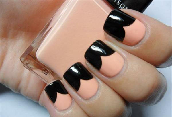 Simple-Black-Nail-Art-Designs-Supplies-For-Beginners-41