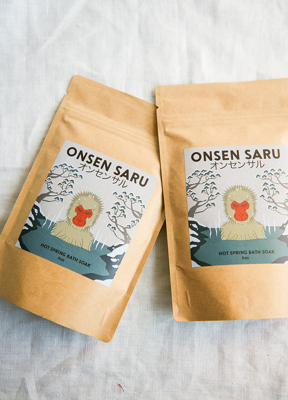 Onsen Saru Hot Spring Bath Soak