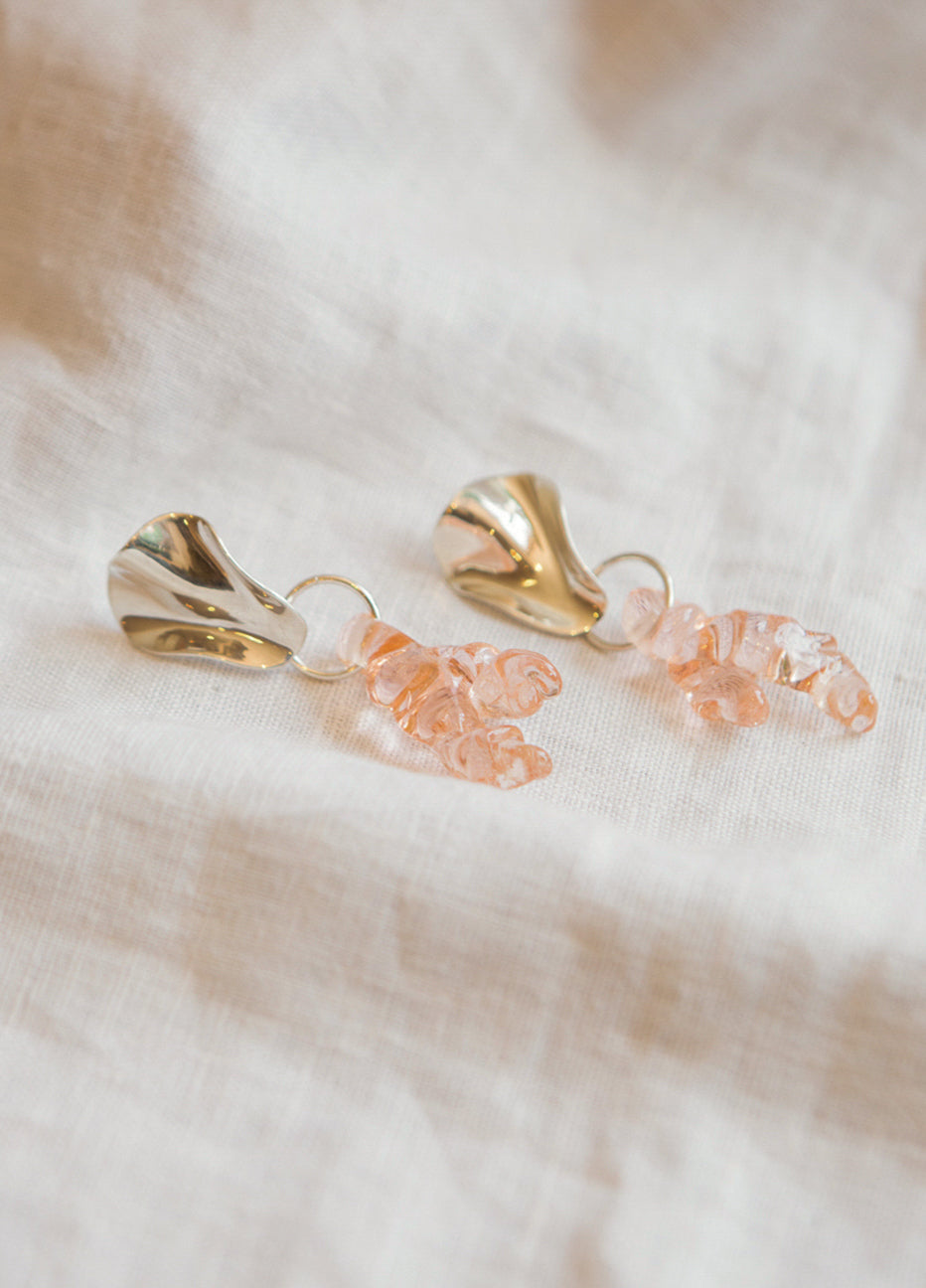 Cled Coral Reef Earrings