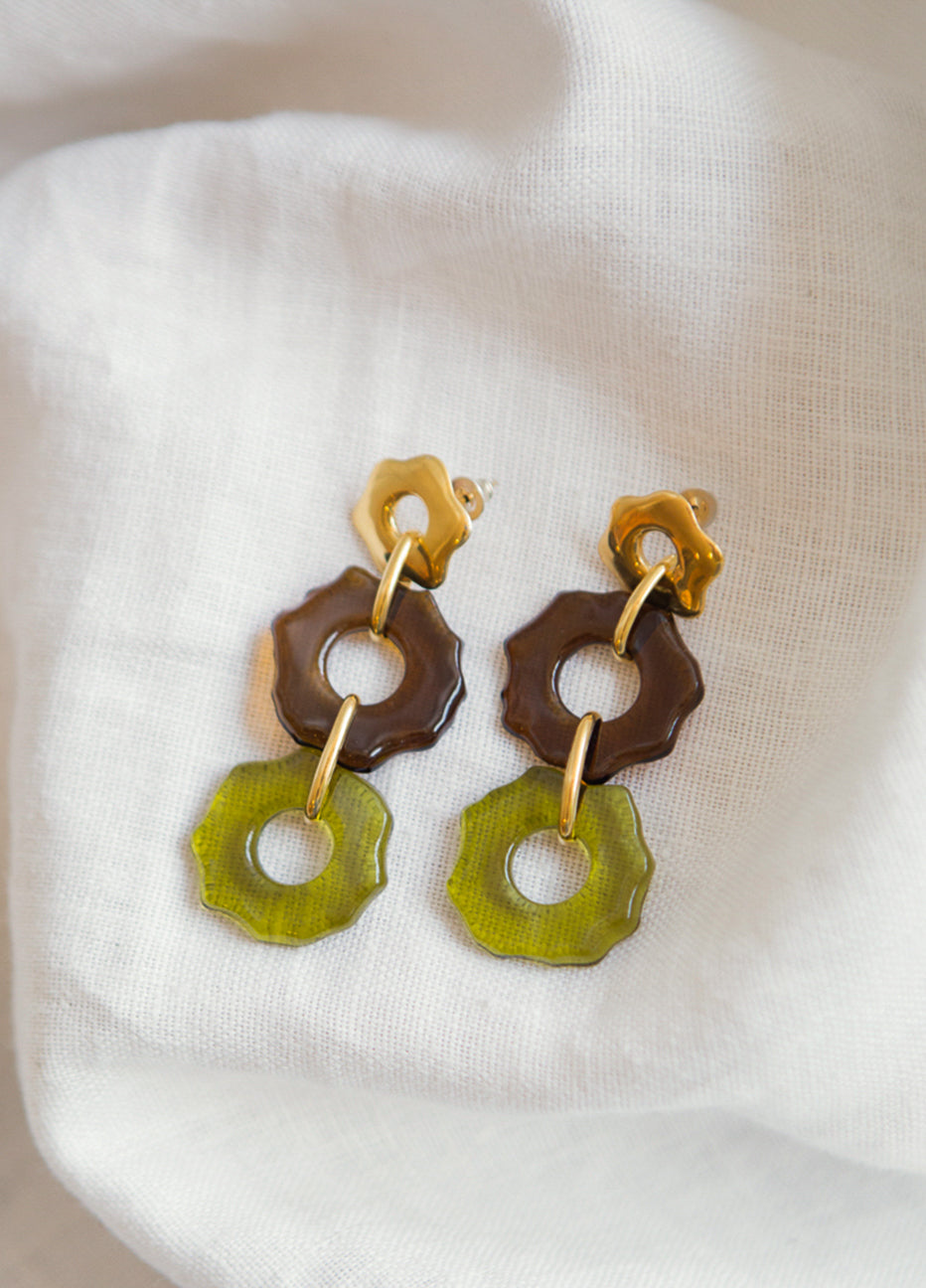 Cled Avens Earrings Trio