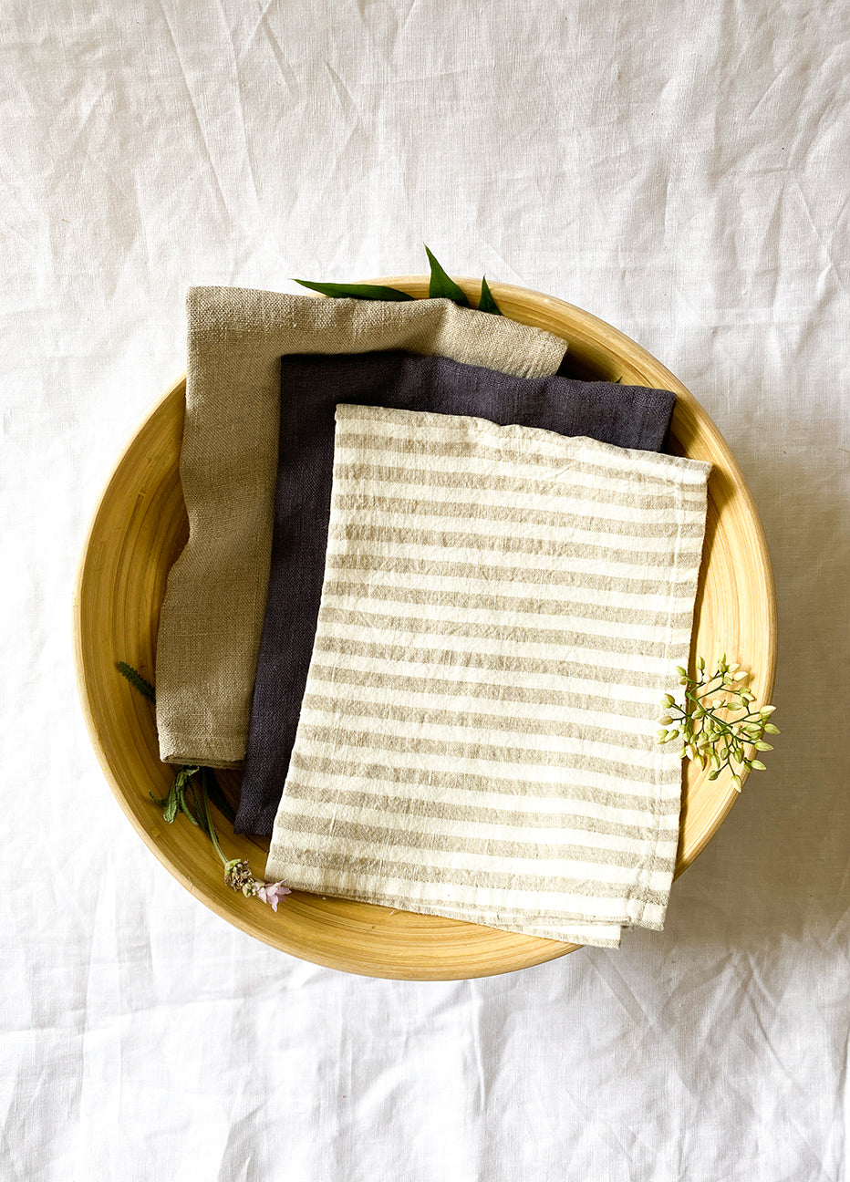 Heaven & Earth Linen Tea Towel