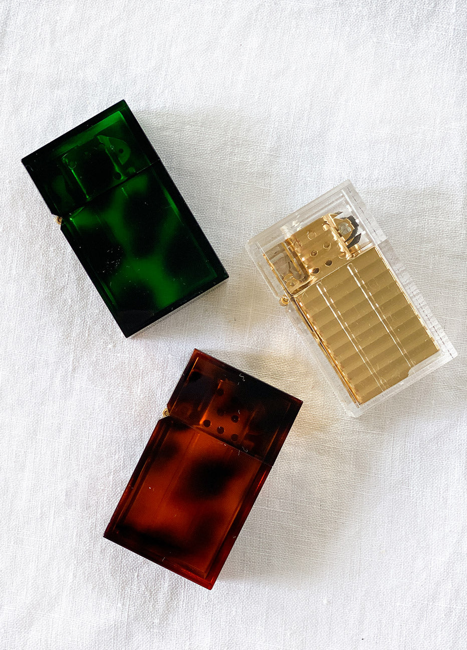 Tortoiseshell Hard Edge Lighter