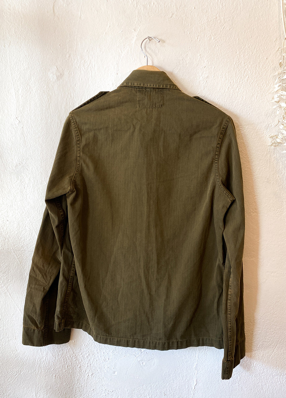Vintage Overdyed Army Coat