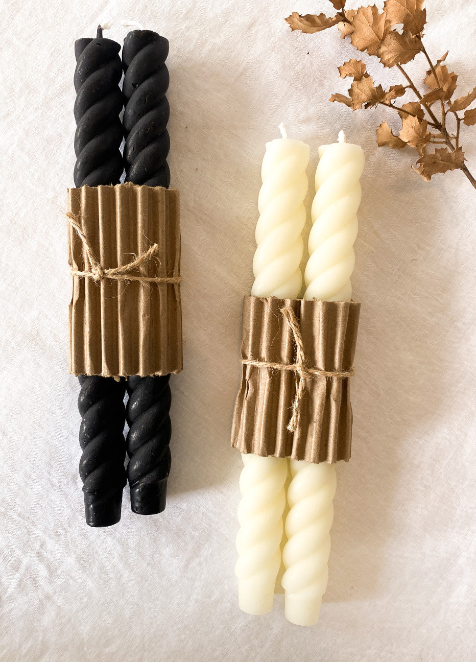 Greentree Rope Taper Candles