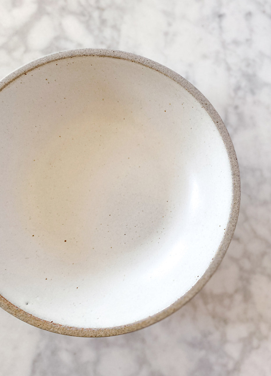 Humble Ceramics Stillness Bowl - Snow White