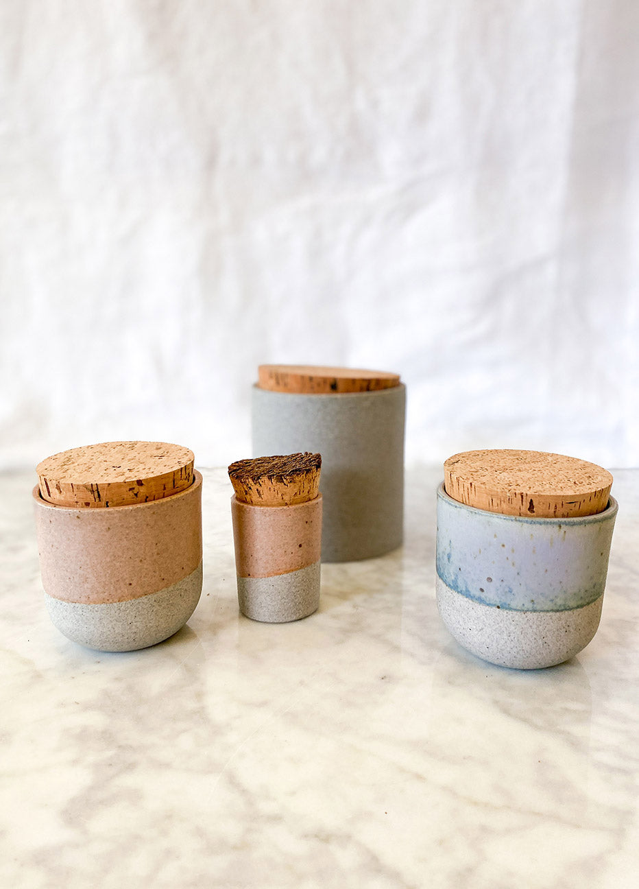 Humble Ceramics Dipped Canister