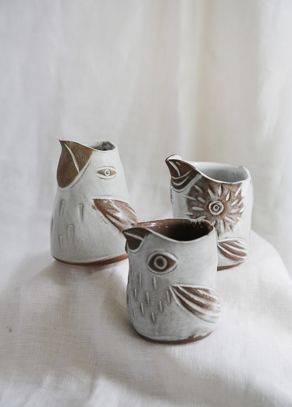 Knotwork Baby Bird Creamer