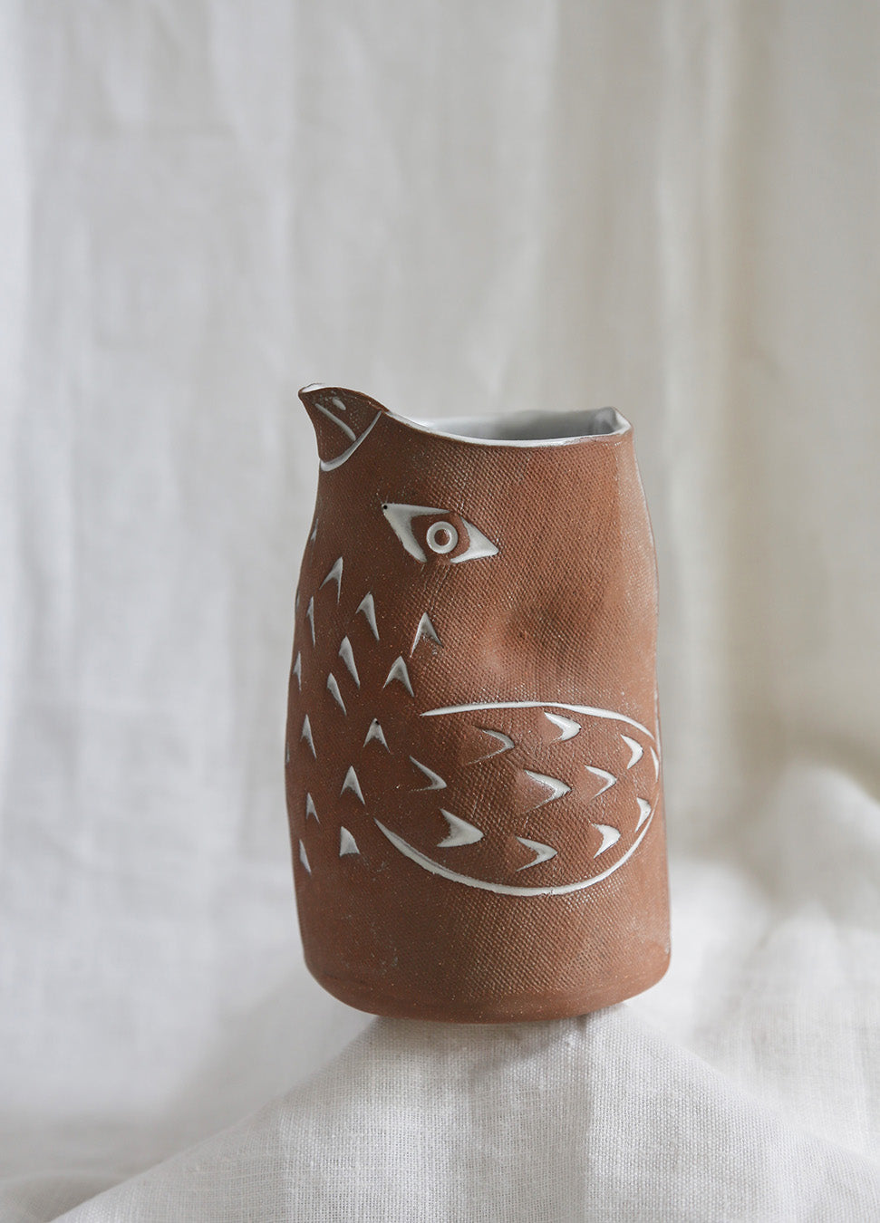 Knotwork Bird Pitcher
