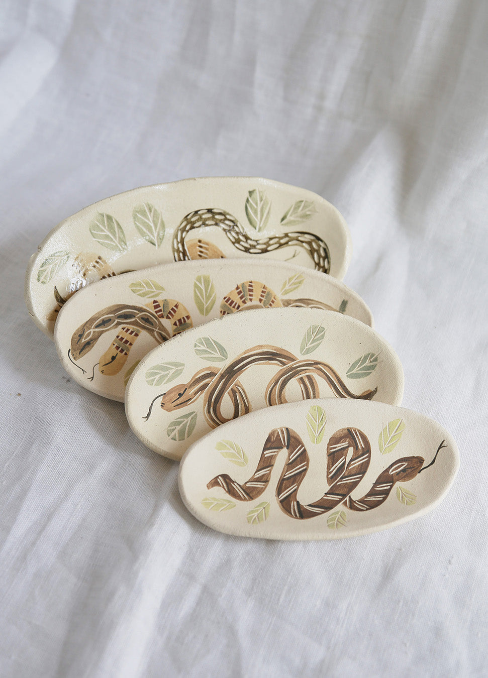 Knotwork Snake Lovers Plates