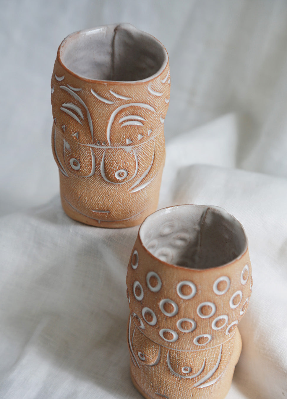 Knotwork Totem Lady Cocktail Cup